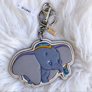 Coach x Disney Dumbo Keychain